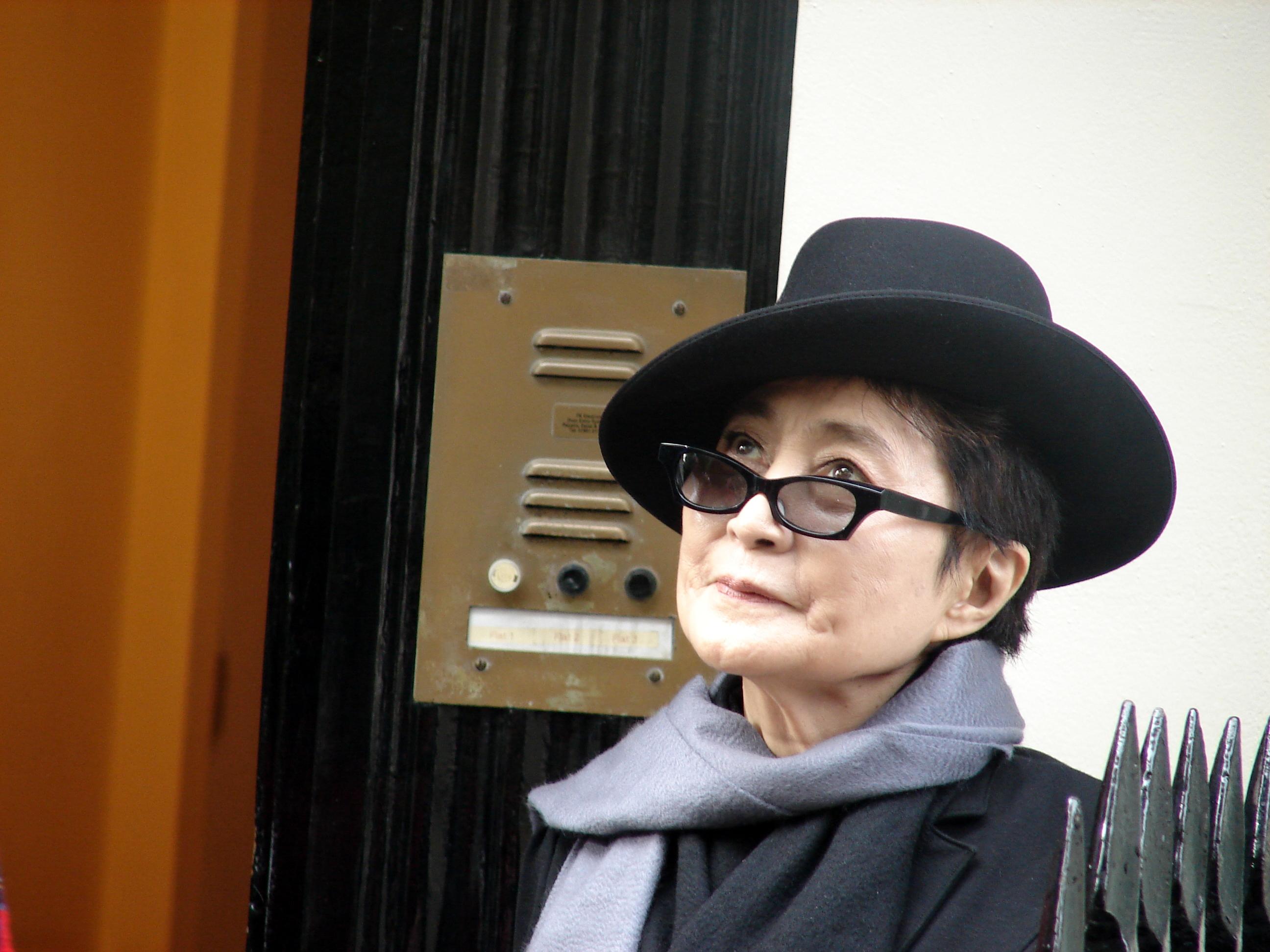 Poet Yoko Ono
