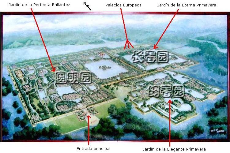 Antiguo palacio de verano wikipedia la enciclopedia libre for Jardin imperial chino
