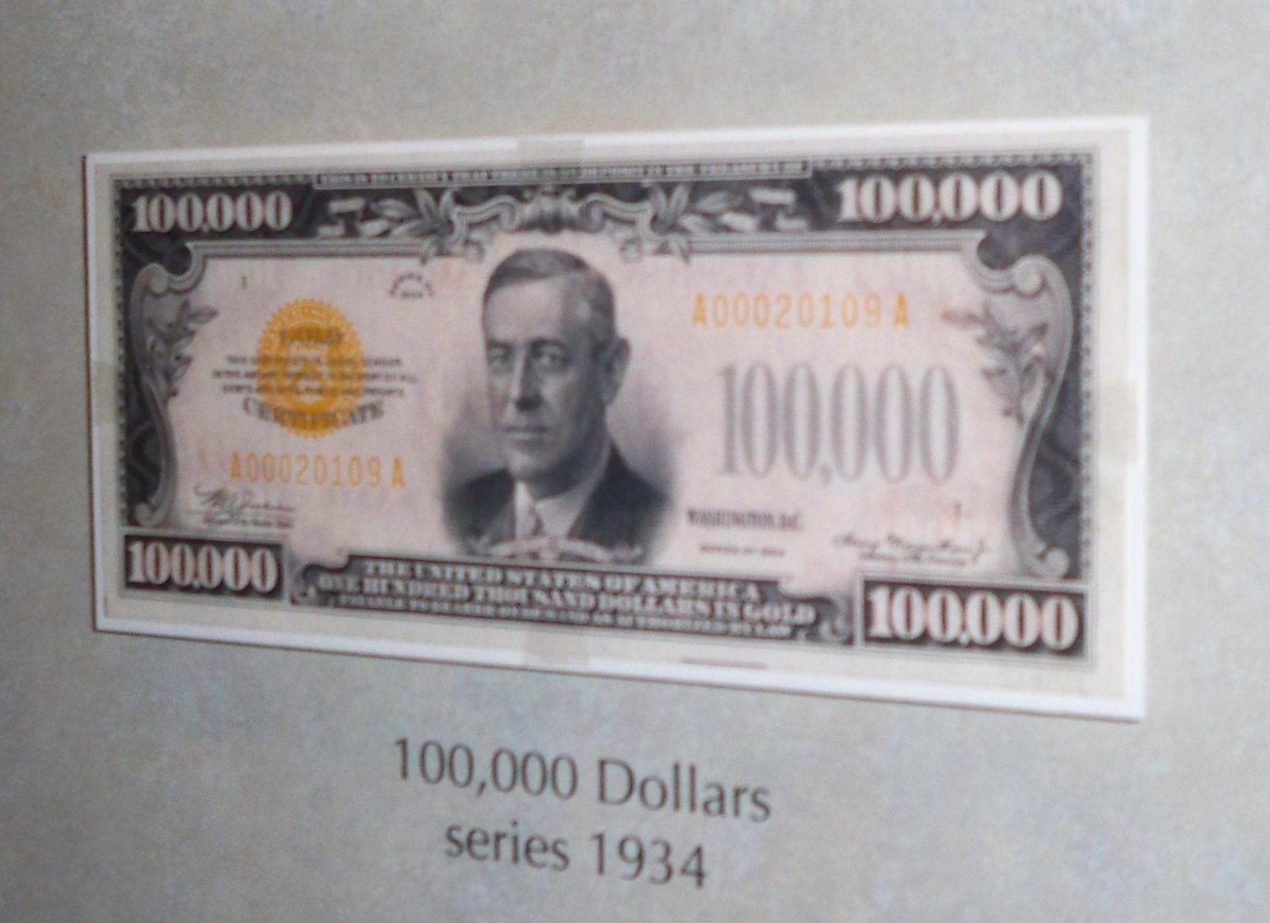 File:$100,000 b... $100000 Bill