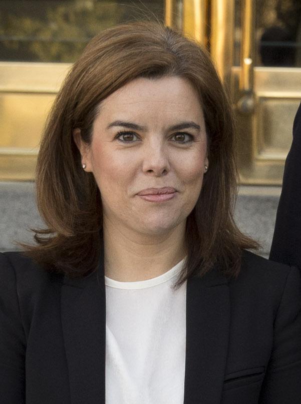 Soraya s enz de santamar a wikipedia la enciclopedia libre for Foto del ministro del interior