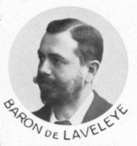 Édouard de Laveleye Belgian football manager