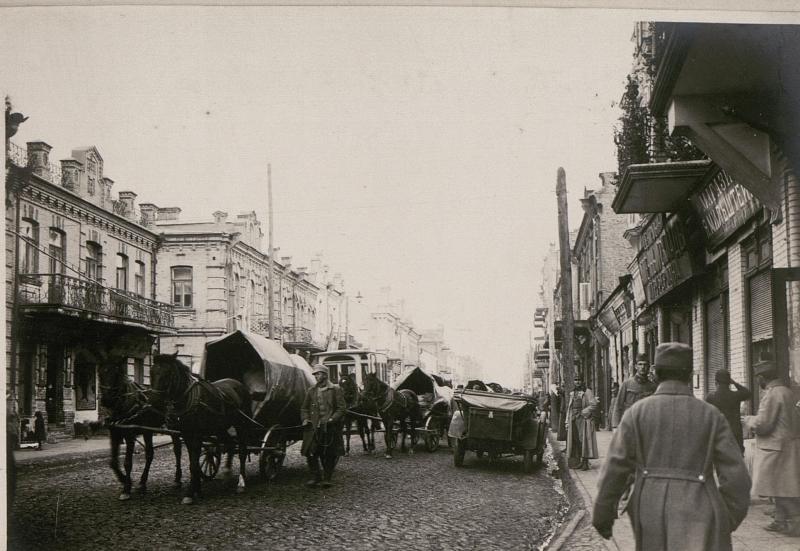 Городская улица, нач. XX ст.