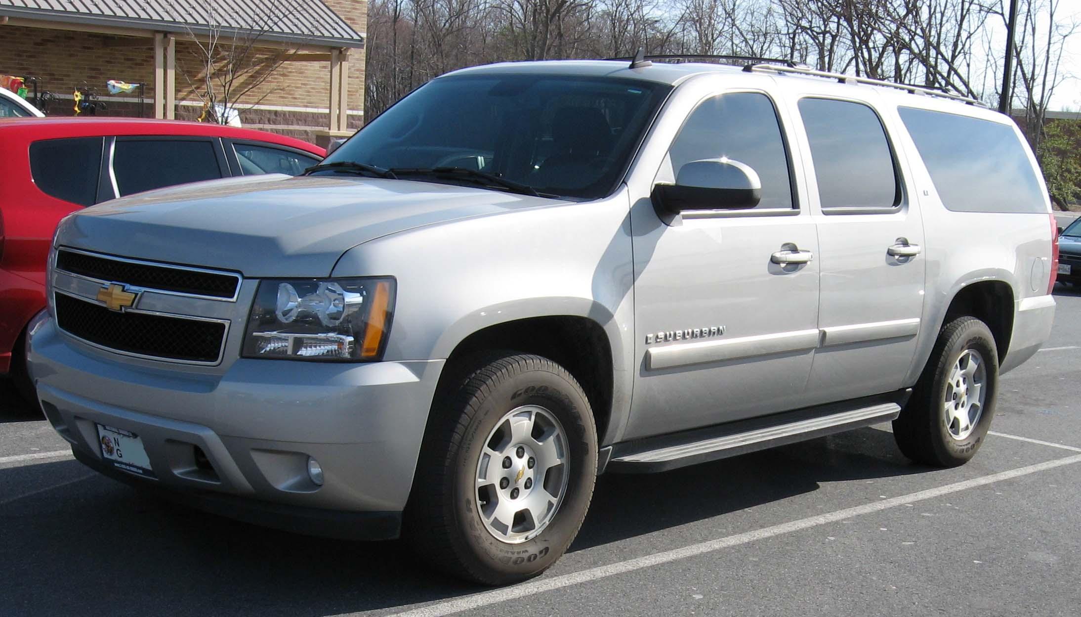 File 07 Chevrolet Suburban Jpg Wikimedia Commons