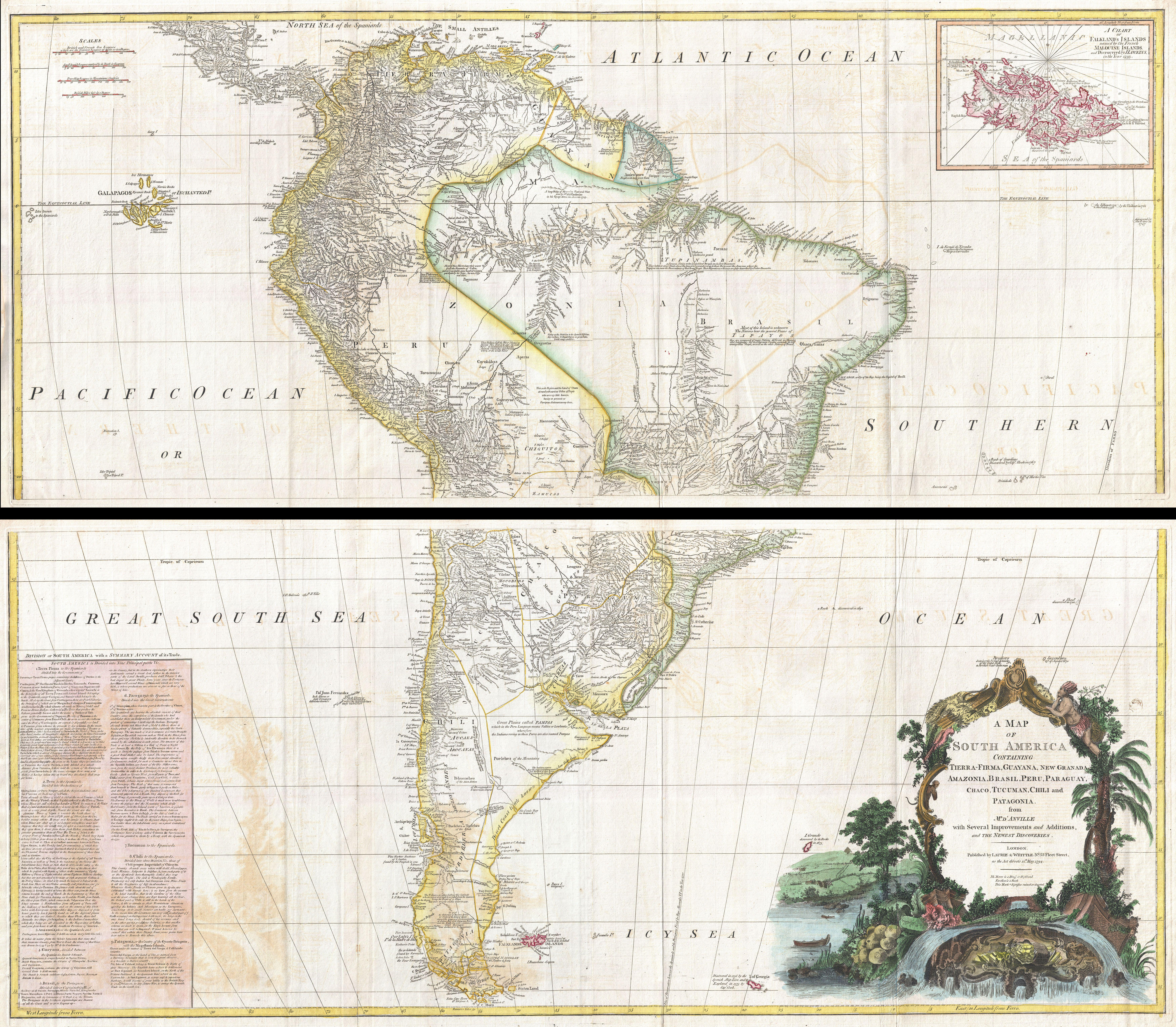 File:1795 D'Anville Wall Map of South America - Geographicus ... on tectonic map of north america, glacial map of north america, physiographic map of north america,