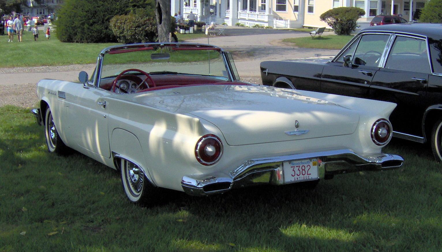 1957 ford thunderbird classic automobiles. Black Bedroom Furniture Sets. Home Design Ideas