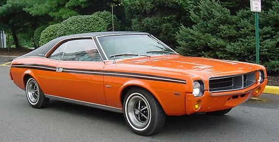File1969 AMC Javelin BBO Big Bad Orange NJ