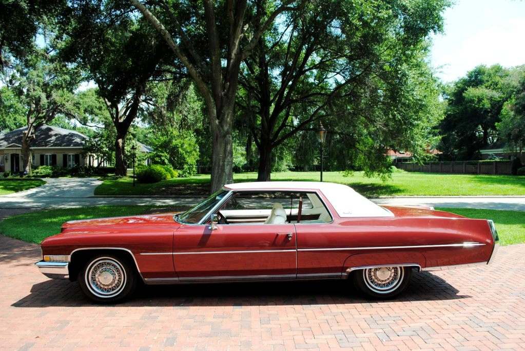 File 1972 Cadillac Coupe Deville Left Jpg Wikimedia Commons