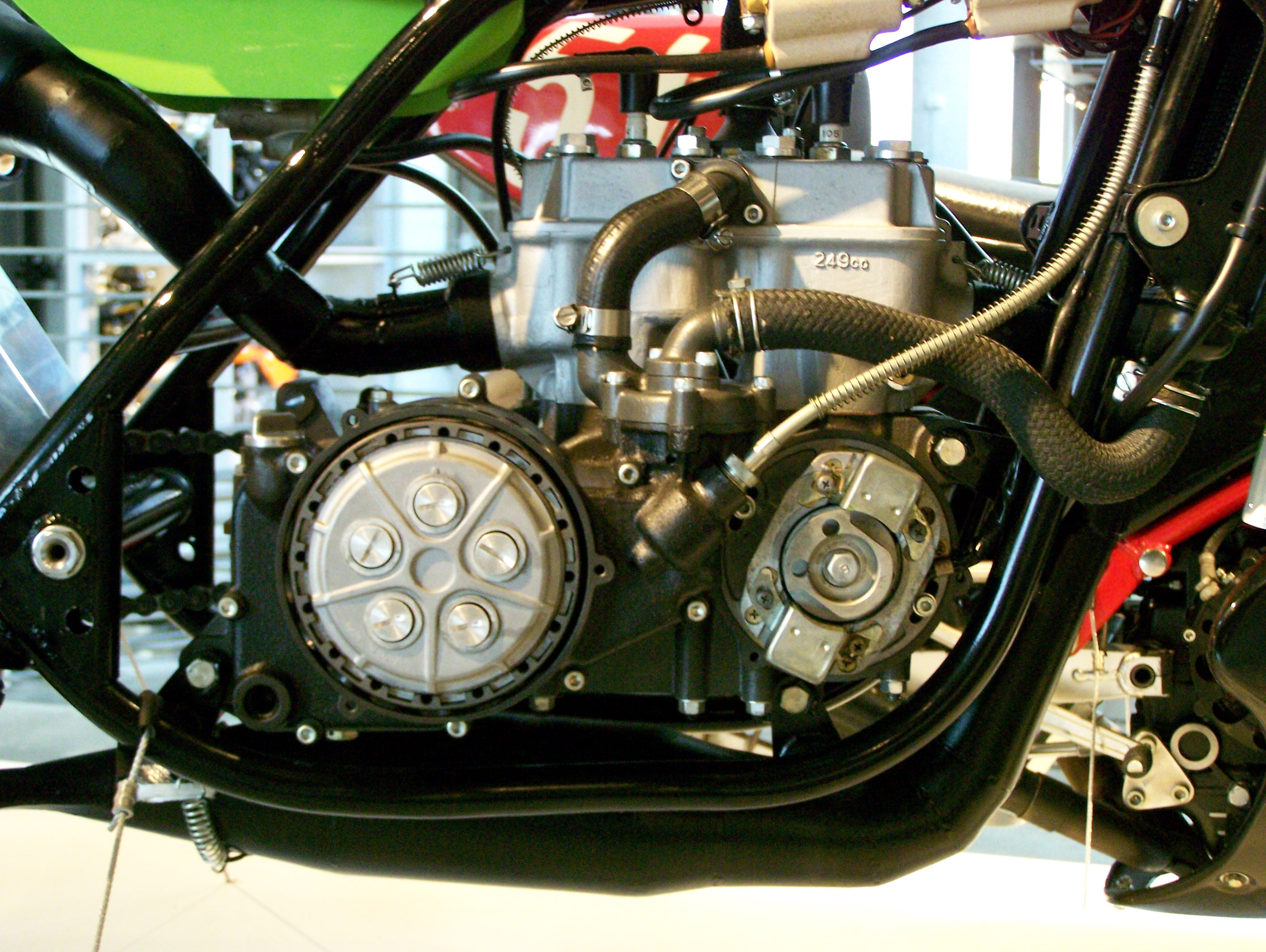 Kawasaki Kr on V Twin Motorcycle Engines