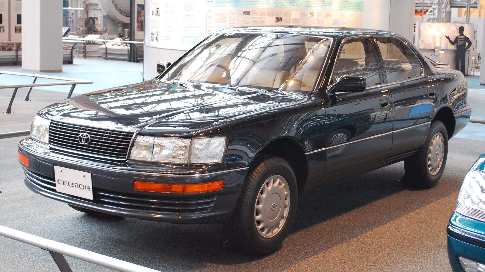 File:1989 Toyota Celsior 01.jpg - Wikimedia Commons