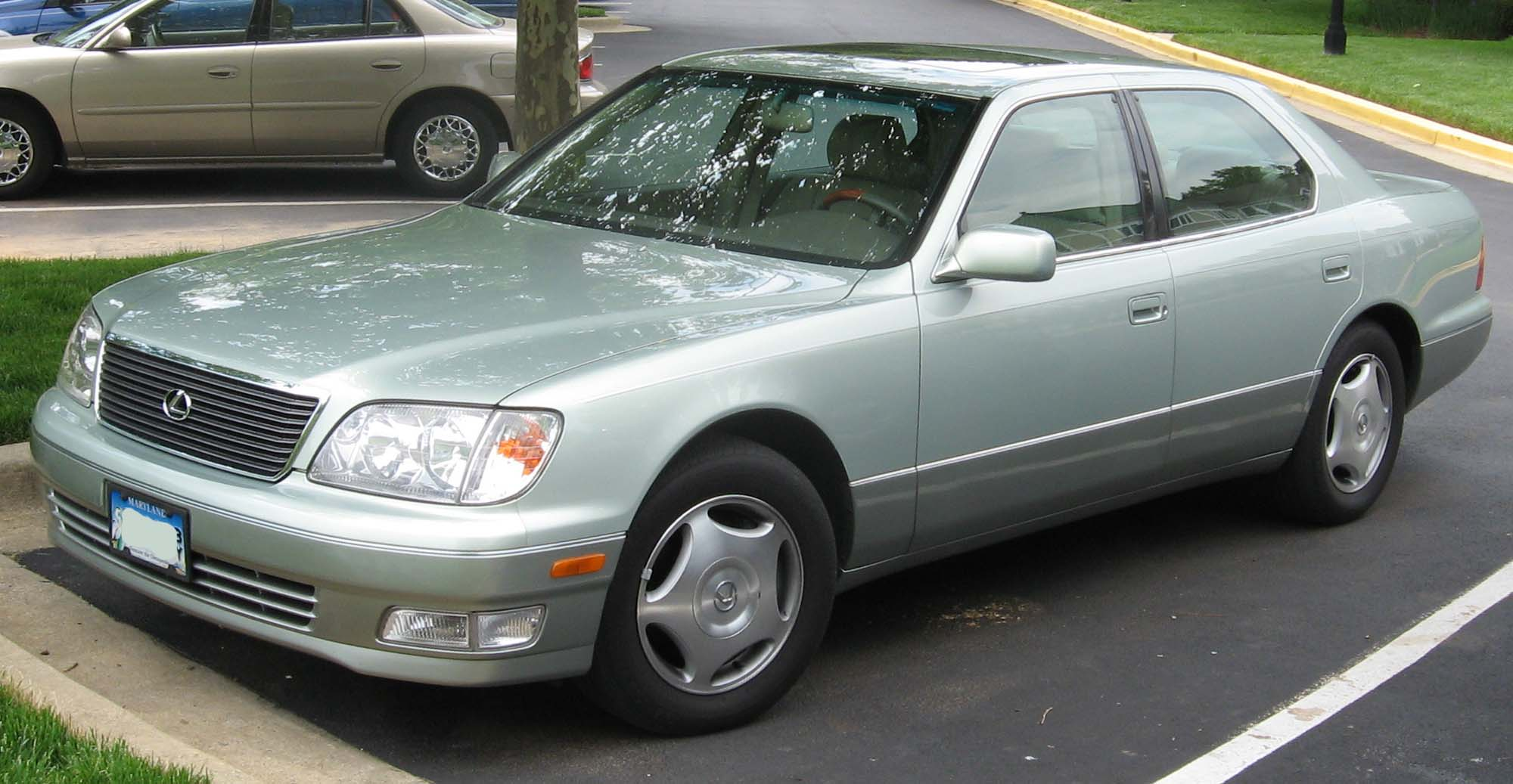 File:1998-00 Lexus LS400.jpg - Wikimedia Commons
