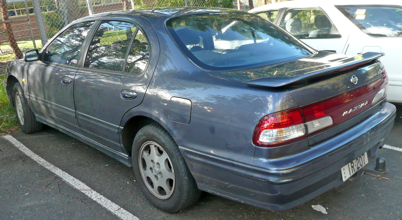 2009 Nissan Maxima >> File:1998-1999 Nissan Maxima (A32 S4) 30S Touring sedan 01.jpg - Wikimedia Commons
