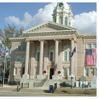 Wilcox County Courthouse in Abbeville