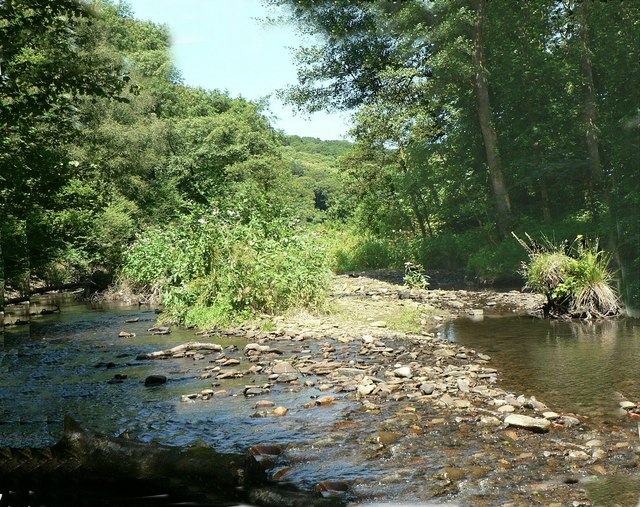 Afon Garw, Bryngarw Country Park - geograph.org.uk - 852029