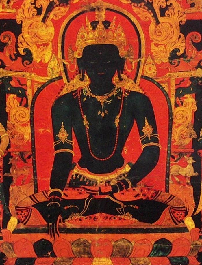 File:Akshobhya detail, 'The Dhyani Buddha Akshobhya