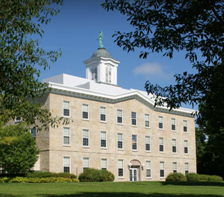 Alexander Dickman Hall, located at Upper Iowa University in Fayette. Alexander Dickman.jpg