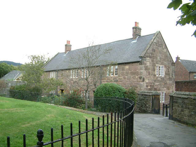 Almshouses, Wirksworth - geograph.org.uk - 499940