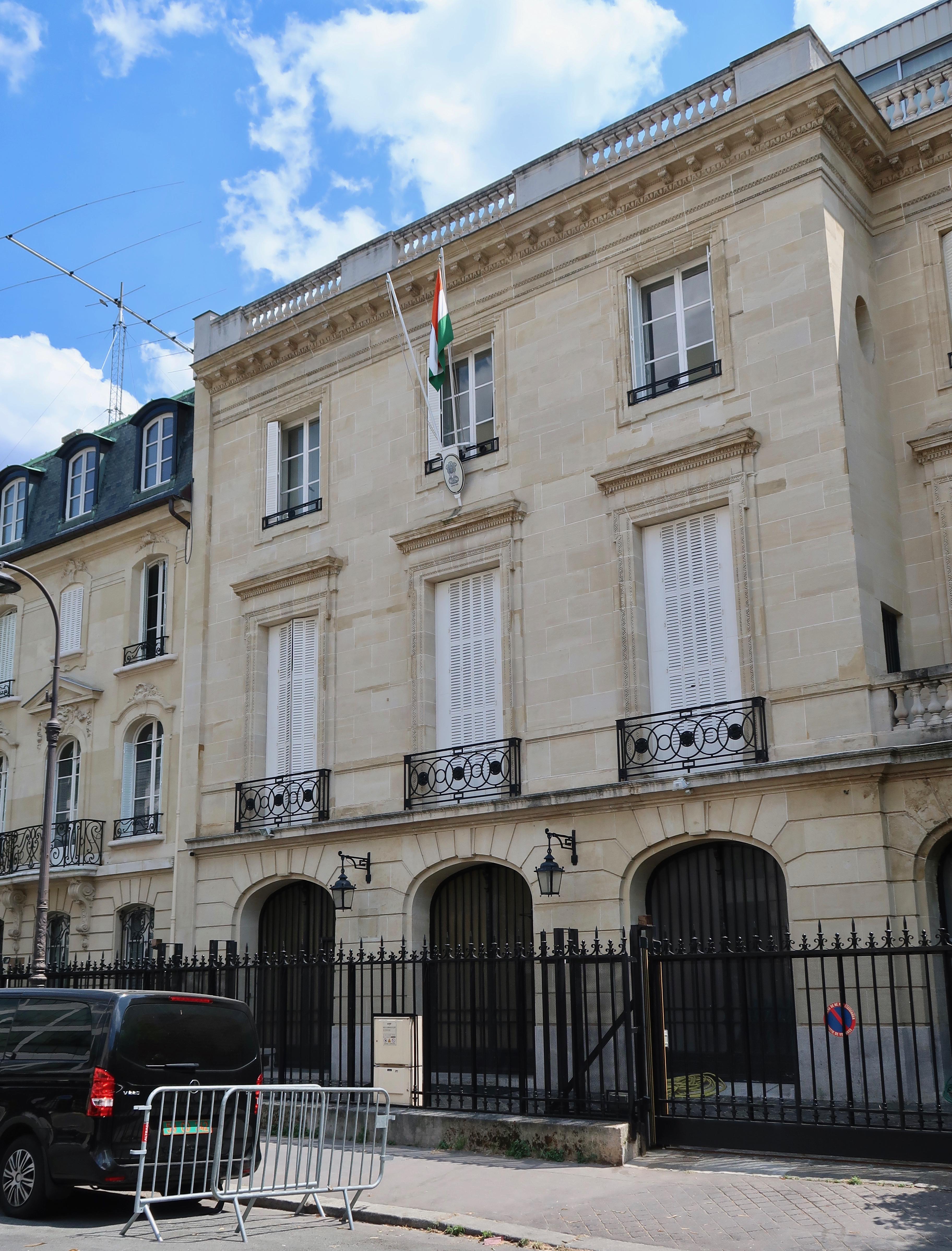 Ambassade D Inde En France Wikipedia