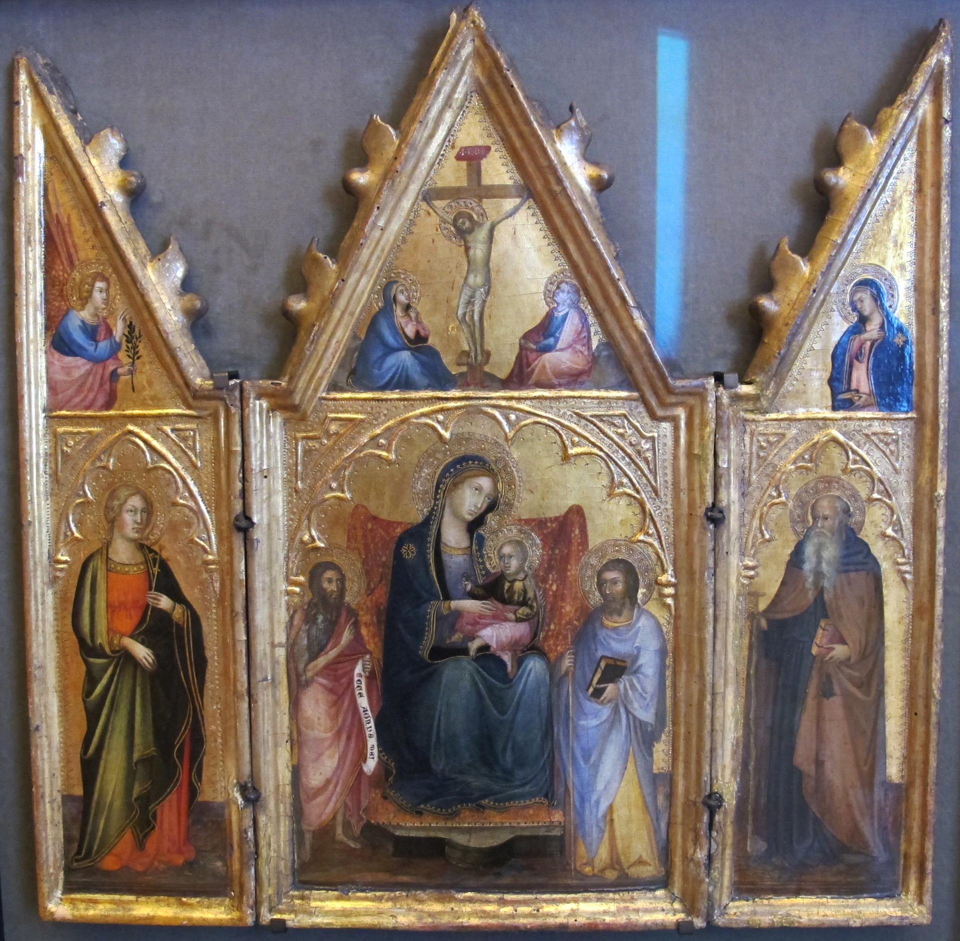File Andrea Di Bartolo Altarolo 1400 Ca Jpg Wikimedia