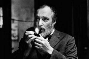 Asger Jorn photographed in 1963 by [[Erling Mandelmann]]