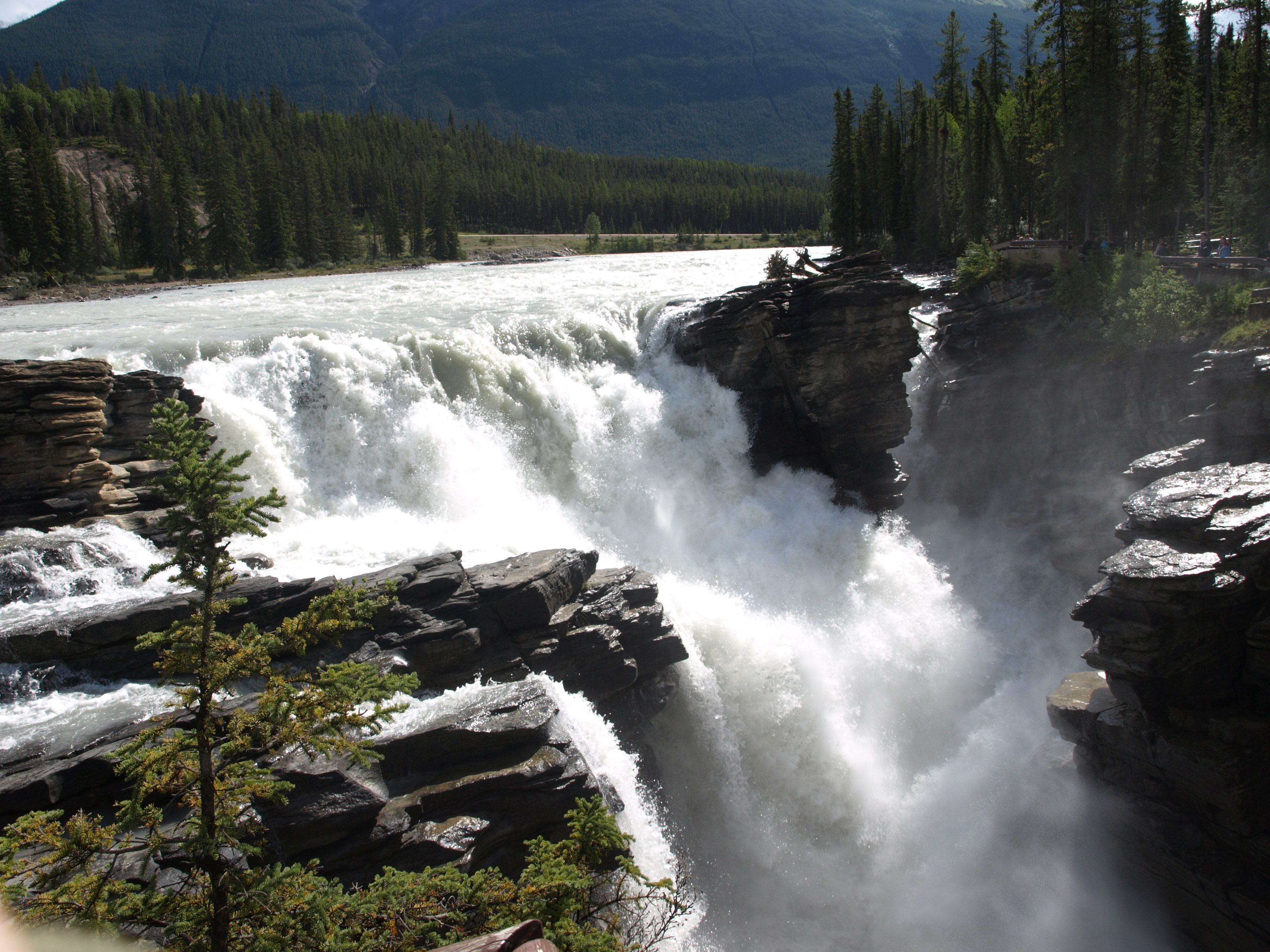 File Athabasca Falls 2008 Jpg Wikipedia