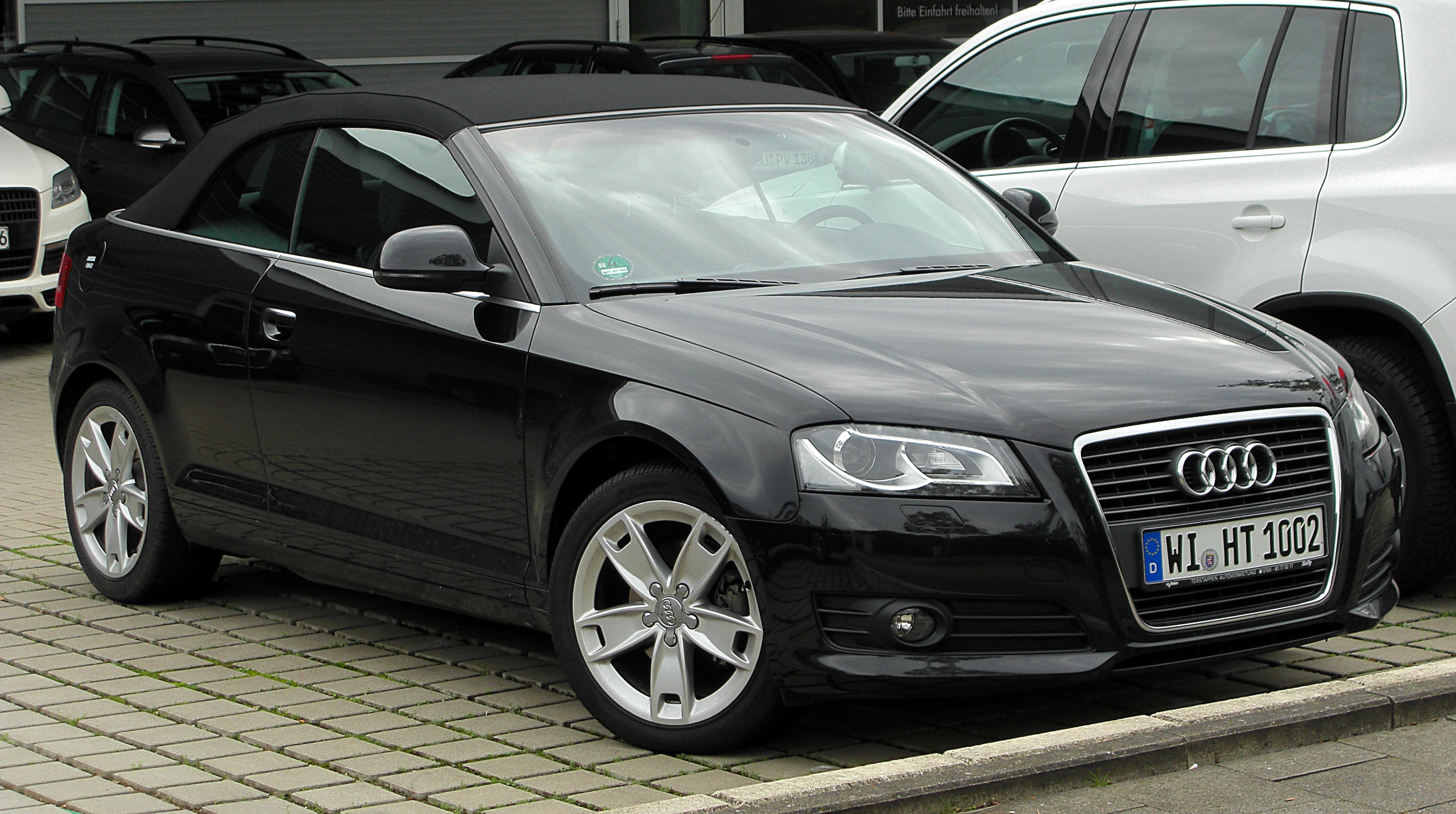 file audi a3 cabriolet 2 0 tdi front wikimedia commons. Black Bedroom Furniture Sets. Home Design Ideas