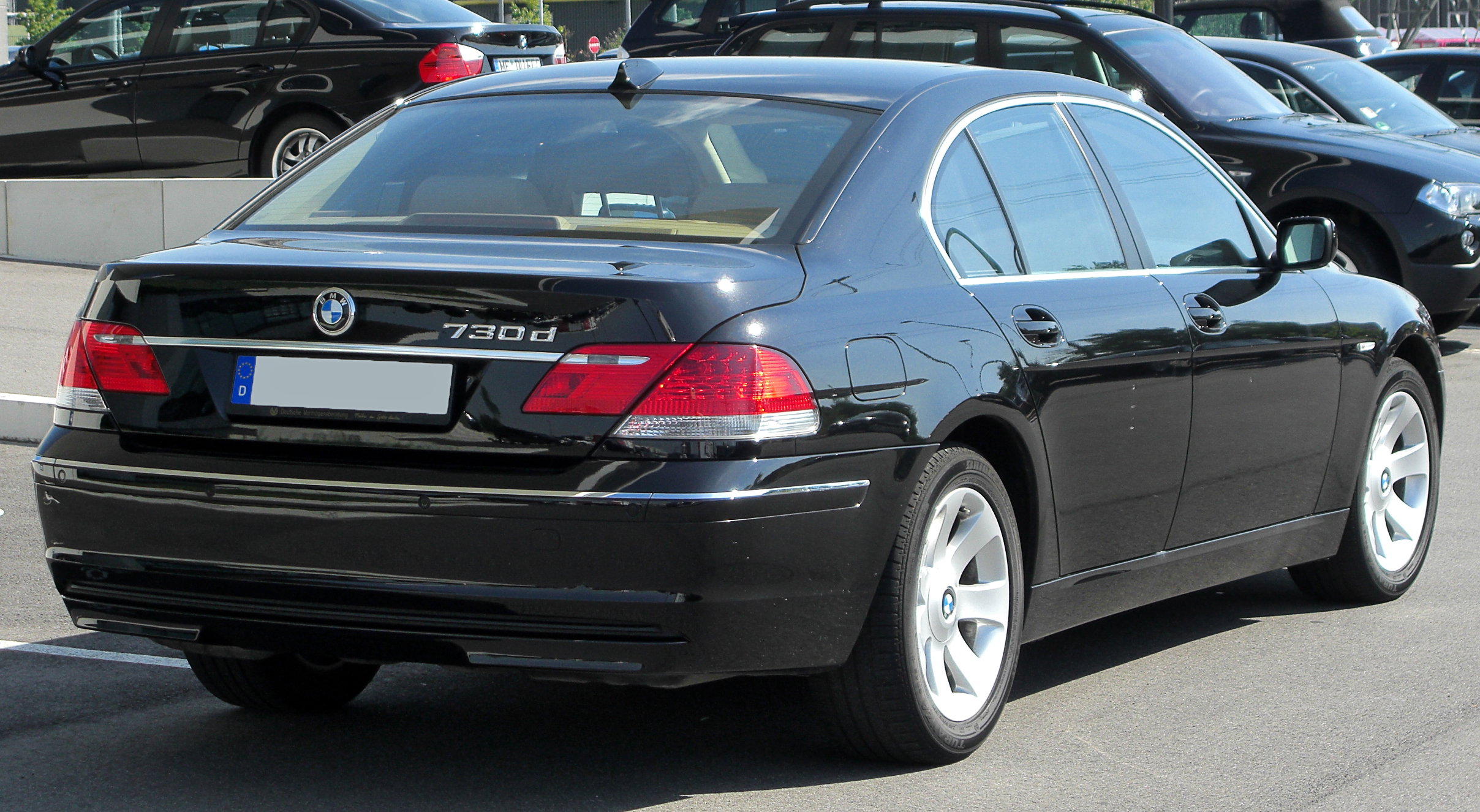 File Bmw 730d E65 Facelift Rear 20100718 Jpg Wikimedia