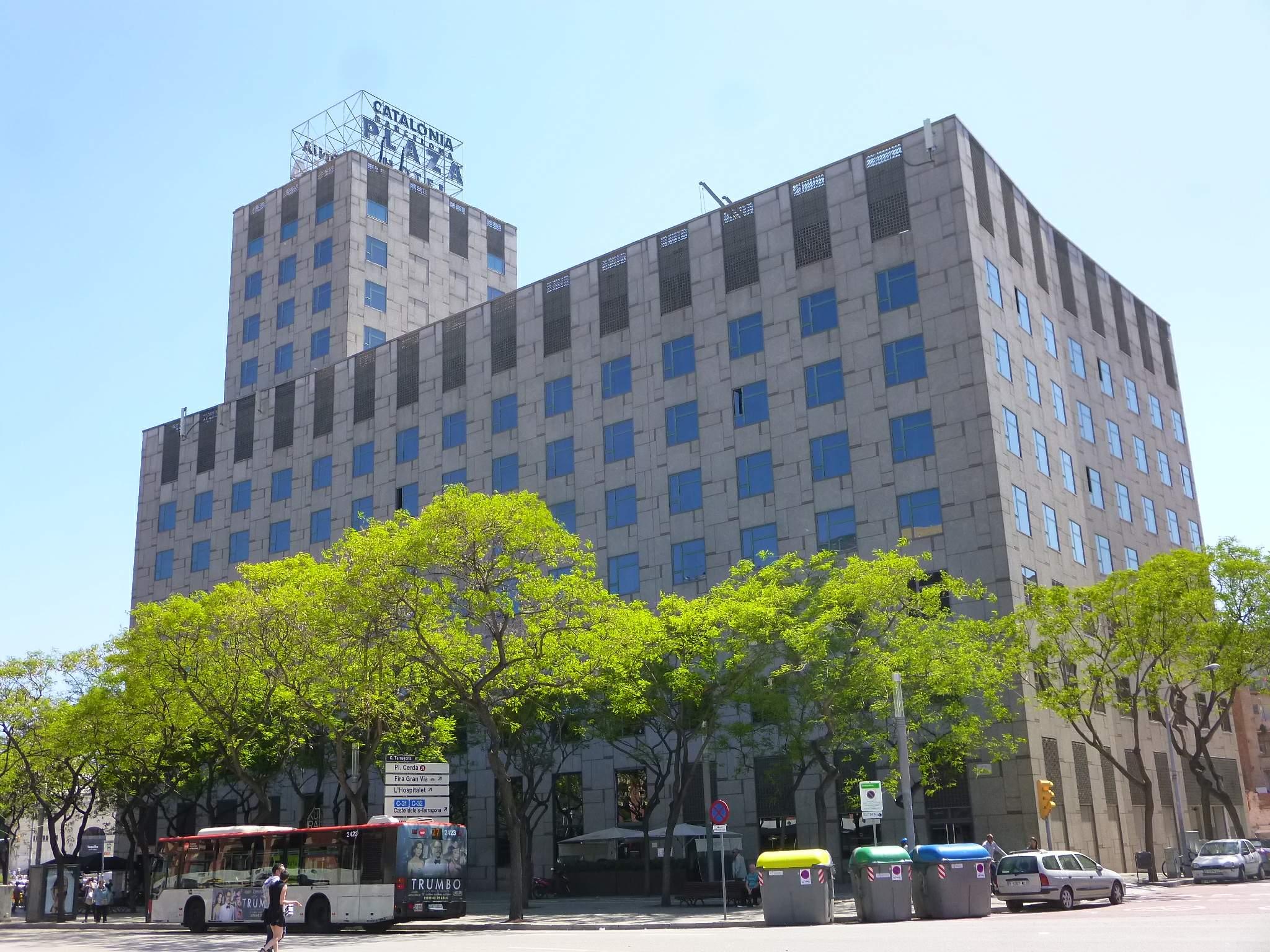 File Barcelona Hotel Catalonia Plaza 1 Jpg