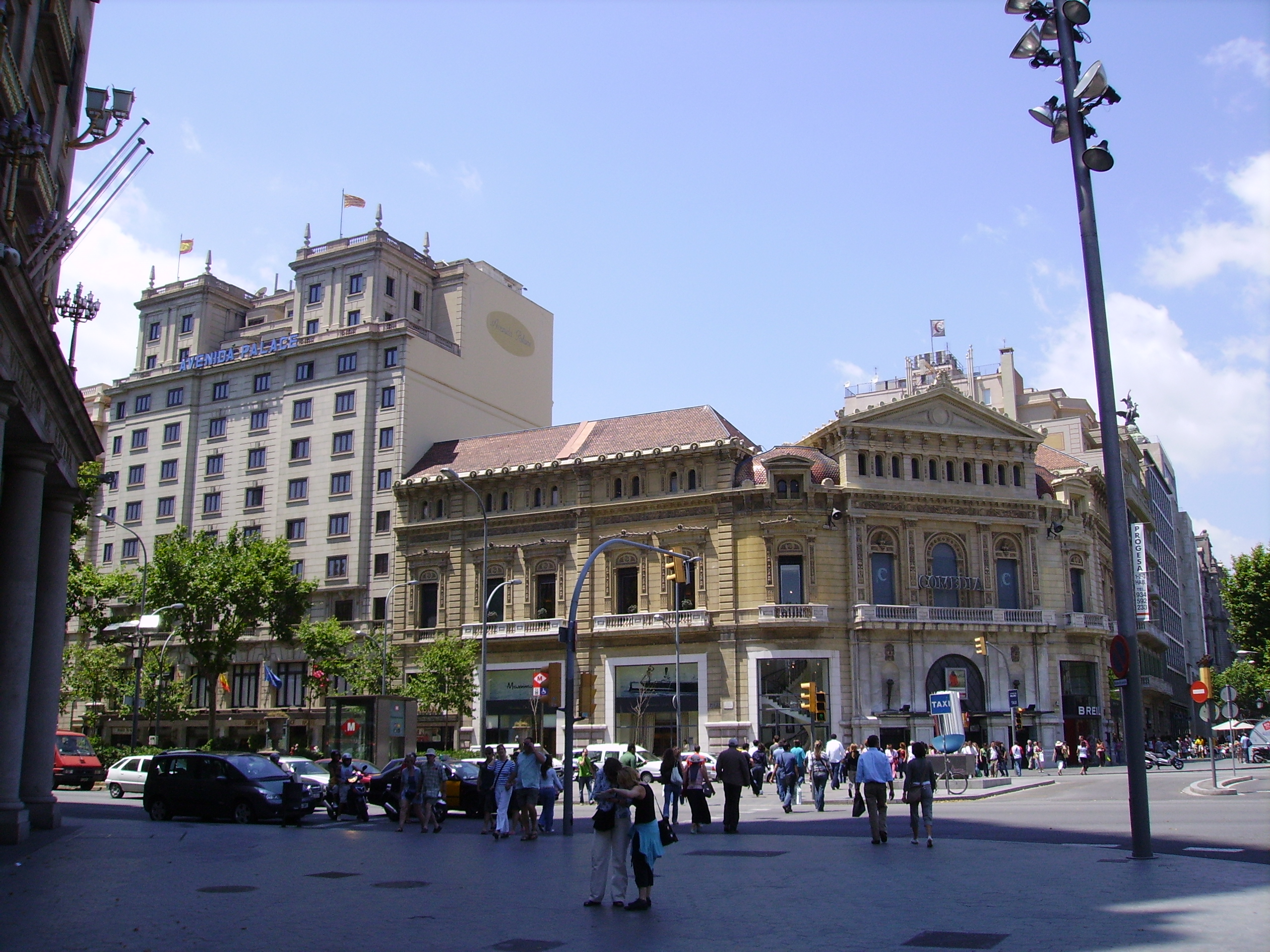 Hotels in paseo de gracia barcelona hotel paseo de gracia for Hotel gracia barcelona