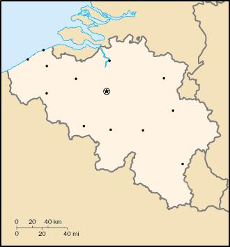 Belgium elhelyezkedése