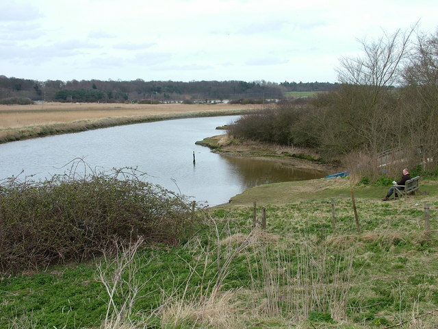 Bend in the River Blythe - geograph.org.uk - 1010555