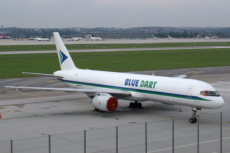 Information and News about Airlines Of India - Blue Dart Aviation