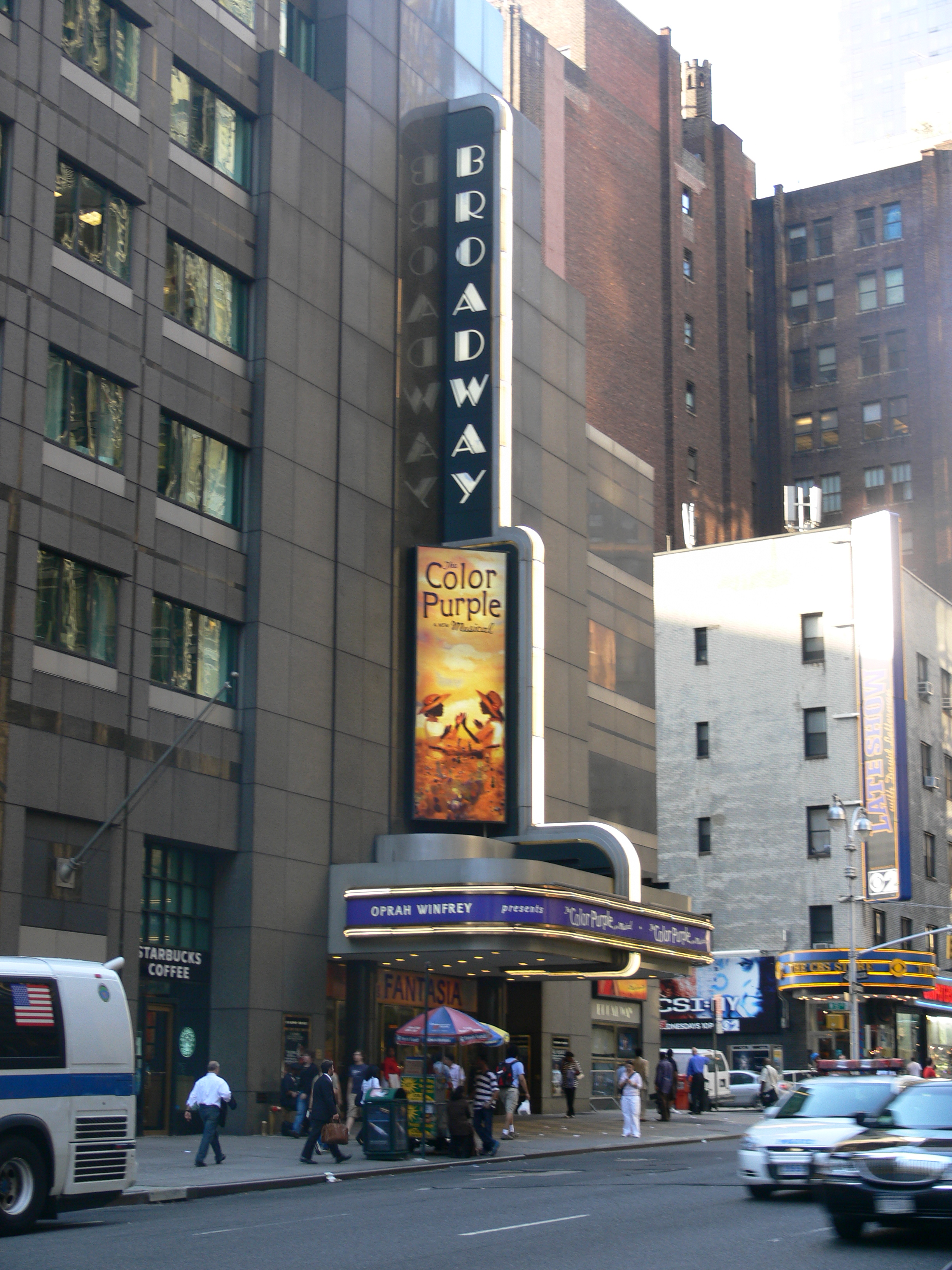 Largest Broadway Theaters