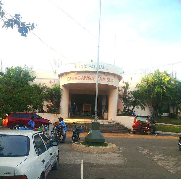 Calabanga Philippines  city photo : Calabanga Mun Hall Wikimedia Commons