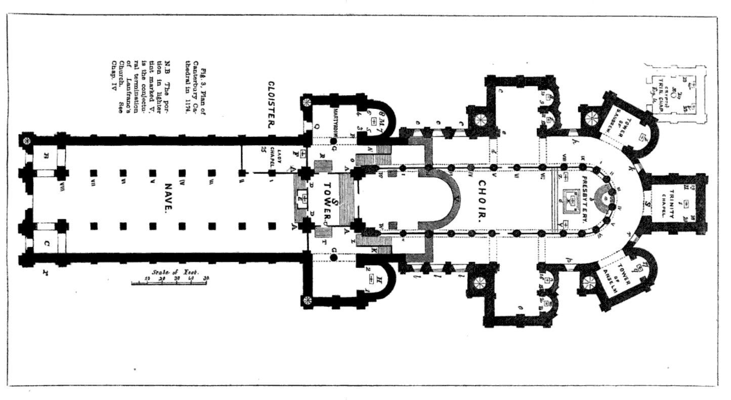 File canterbury cathedral wikimedia commons Canterbury floor plan