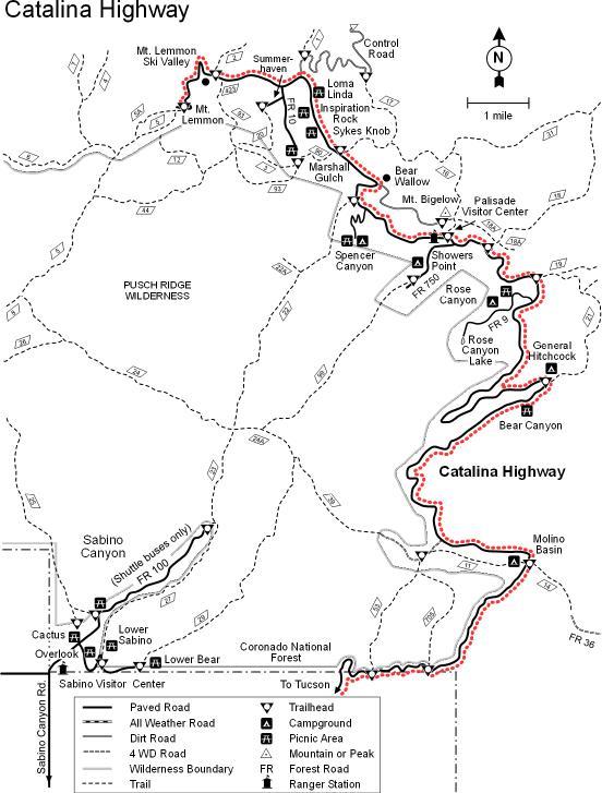 Catalina Highway - Wikiwand