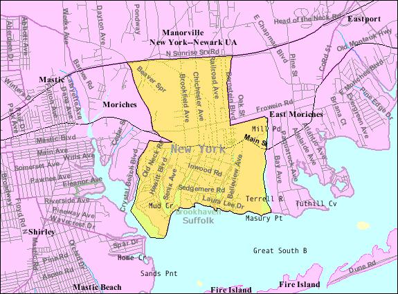 Center Moriches, New Y...U.s. Census Bureau
