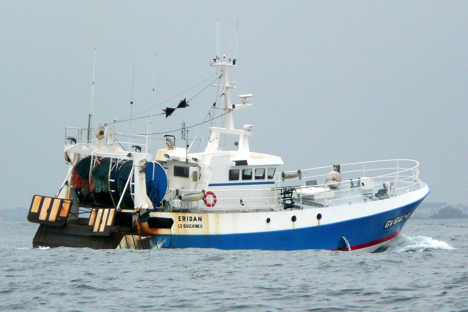 A fishing trawler from Le Guilvinec.