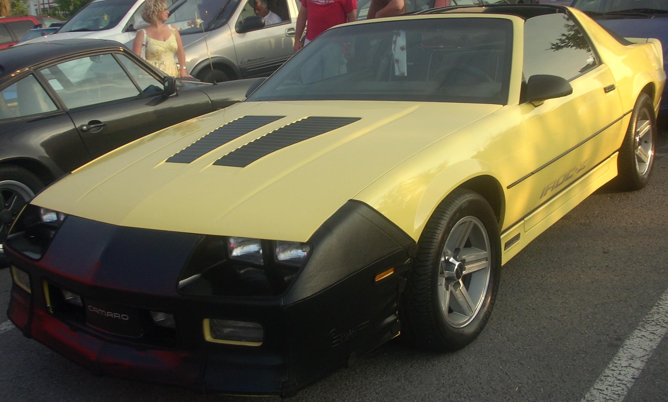 Iroc Z Wiki >> File:Chevrolet Camaro IROC-Z (Orange Julep '10).jpg ...