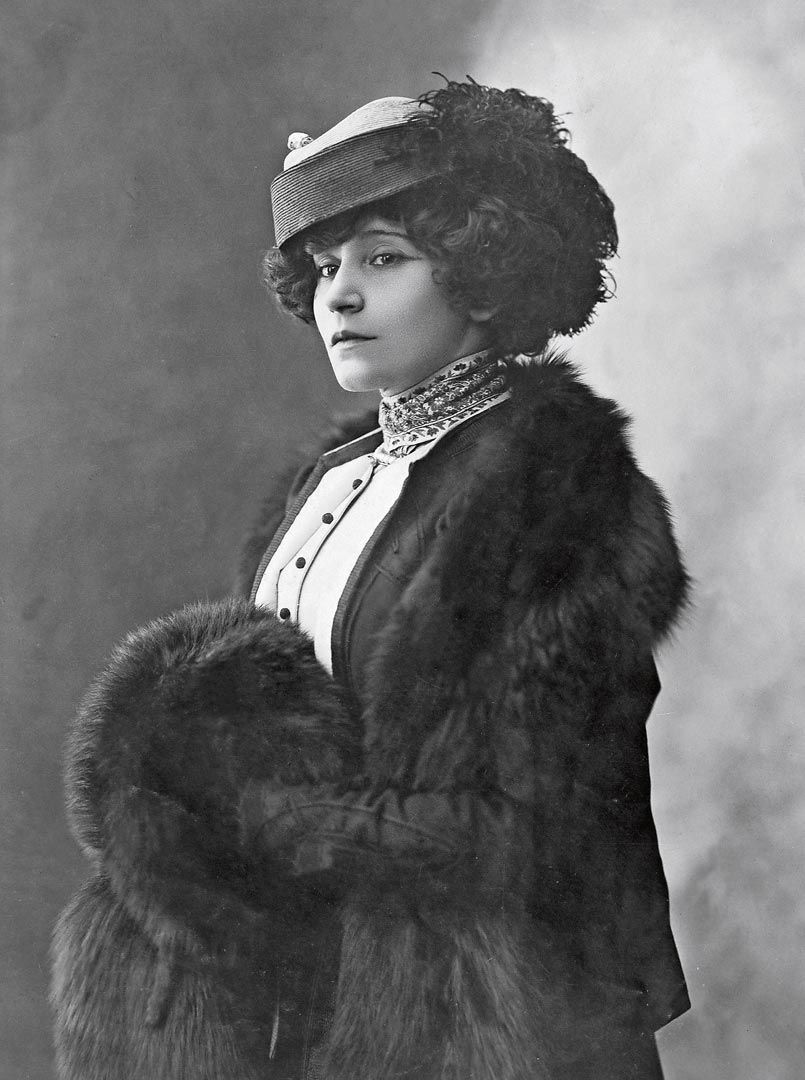 Colette, possibly in the 1910s