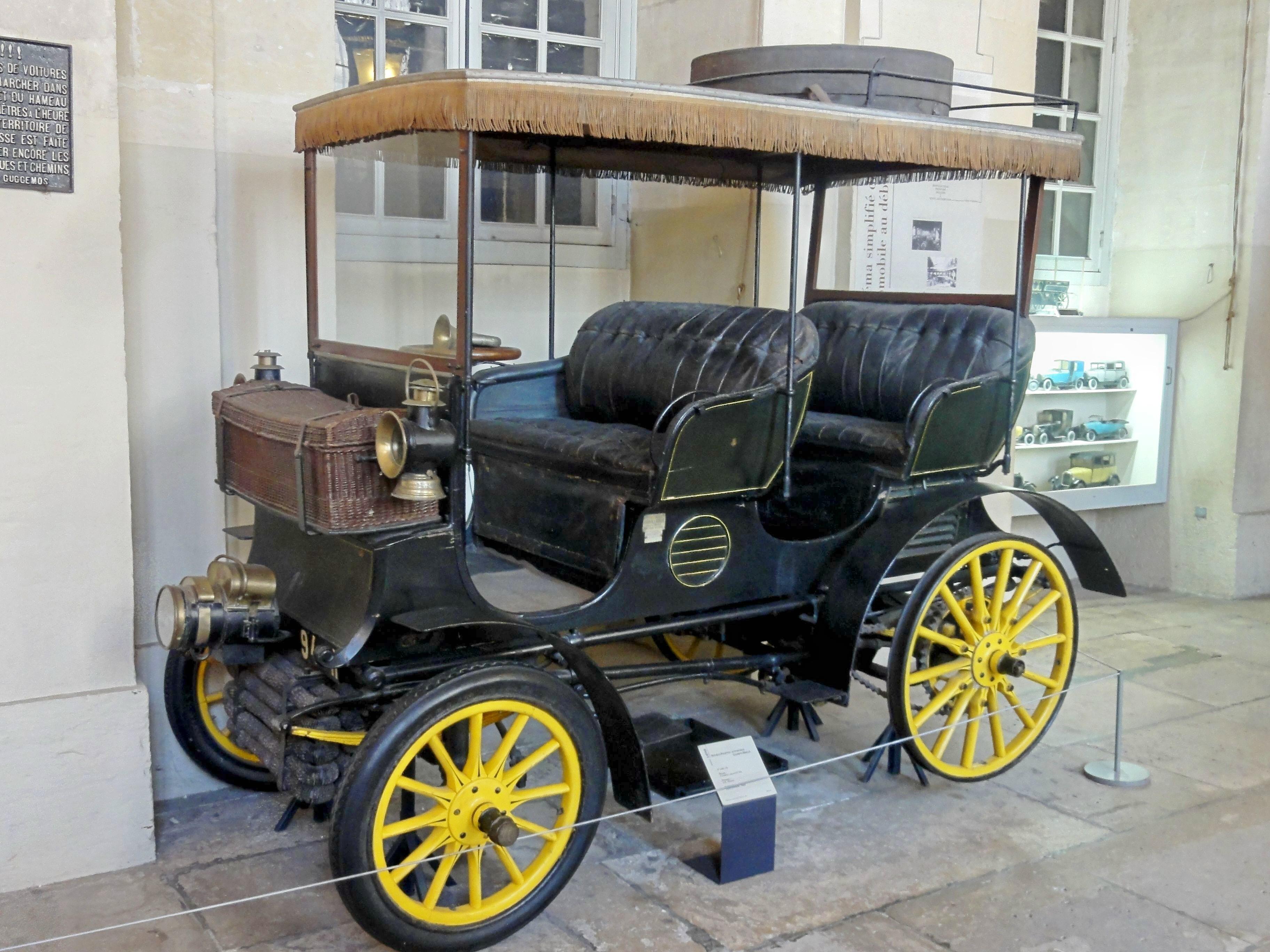Compiegne Automobile : fichier compi gne 60 mus e de la voiture double pha ton automobile gobron brilli 1898 ~ Gottalentnigeria.com Avis de Voitures