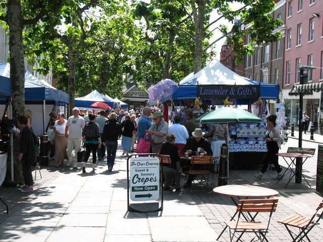 Craft Fair, Parliament Street - geograph.org.uk - 1400890