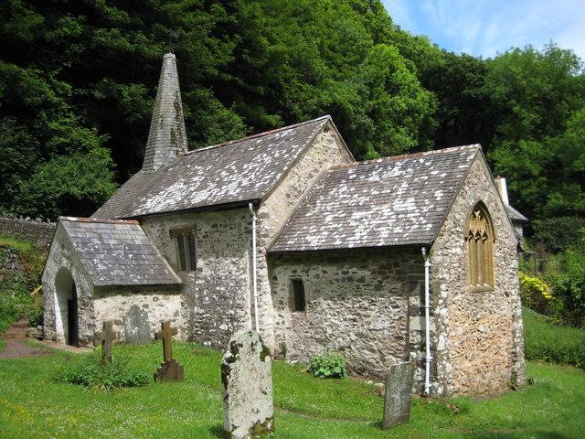 Culbone Church - geograph.org.uk - 1400569