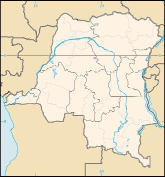 Location map Democratic Republic of the Congo