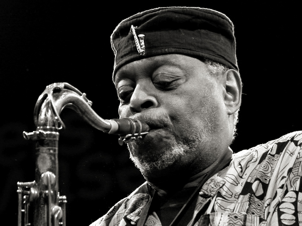 Dewey Redman at the Moers festival in Germany, June 2006