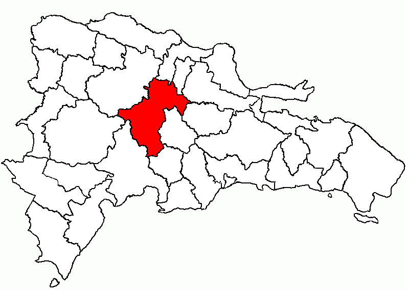 Location of the La Vega Province