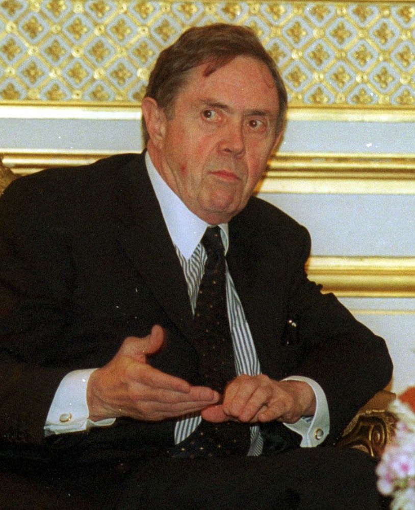 The Honourable Donald J. Johnston, P.C., O.C., Q.C. in 2011