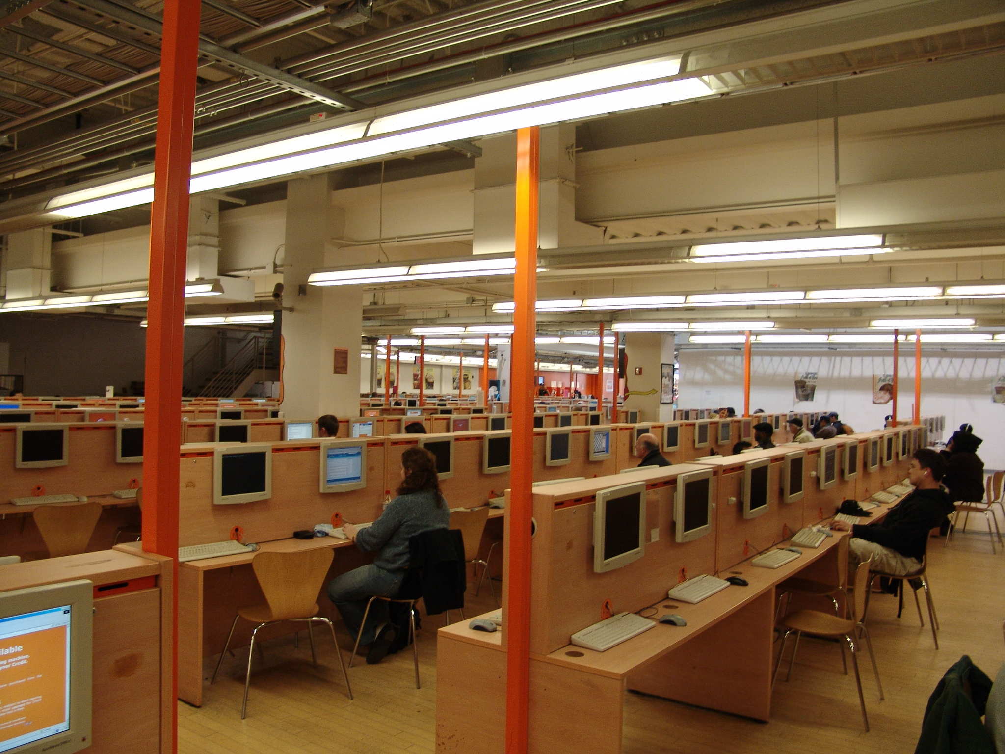 Internet Cafe New York Printer