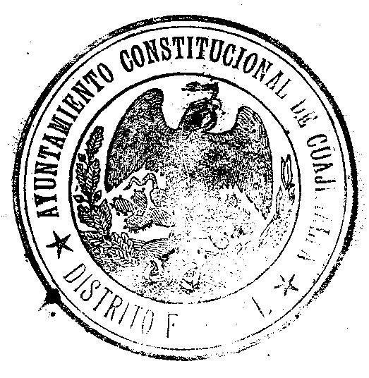 Description Escudo Nacional Mexicano en sello epoca Porfirista.png