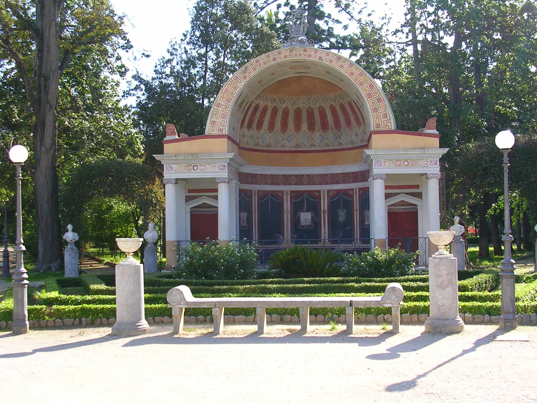 Villa Giulia Palermo Leone