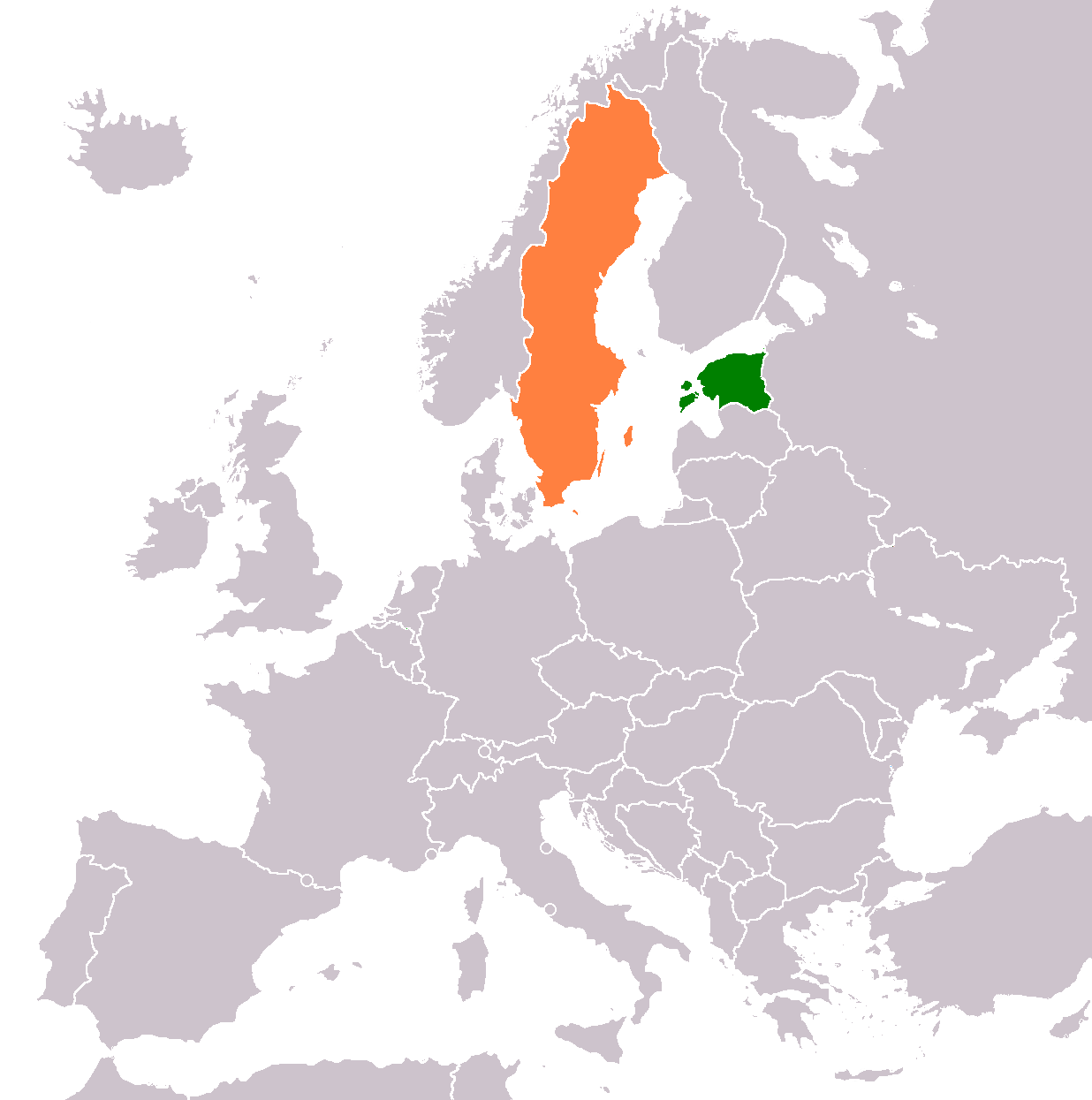 FileEstonia Sweden Locatorpng Wikimedia Commons - Sweden map blank